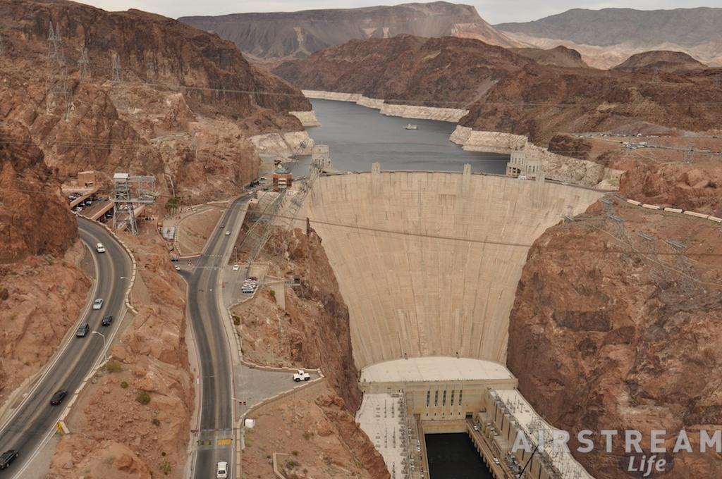 Hoover Dam view Tillman Bridge