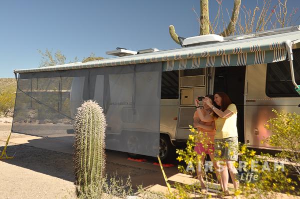 Organ Pipe Cactus National Mon Airstream 2016